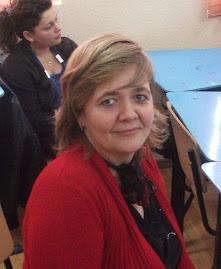 Aspect din timpul anunţării rezultatelor: Prof. dir. Mihaela Tanovici, 15.IV.2011
