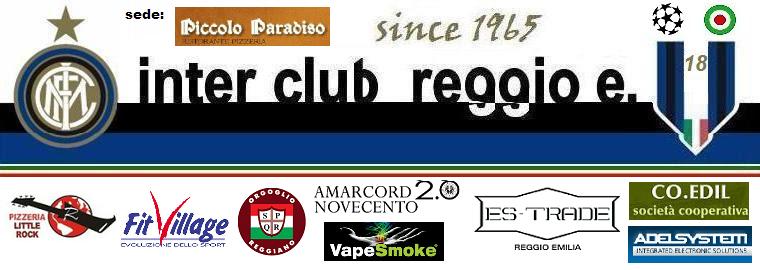 """Inter Club Reggio Emilia """"Giuseppe Meazza"""" - since 1965"""