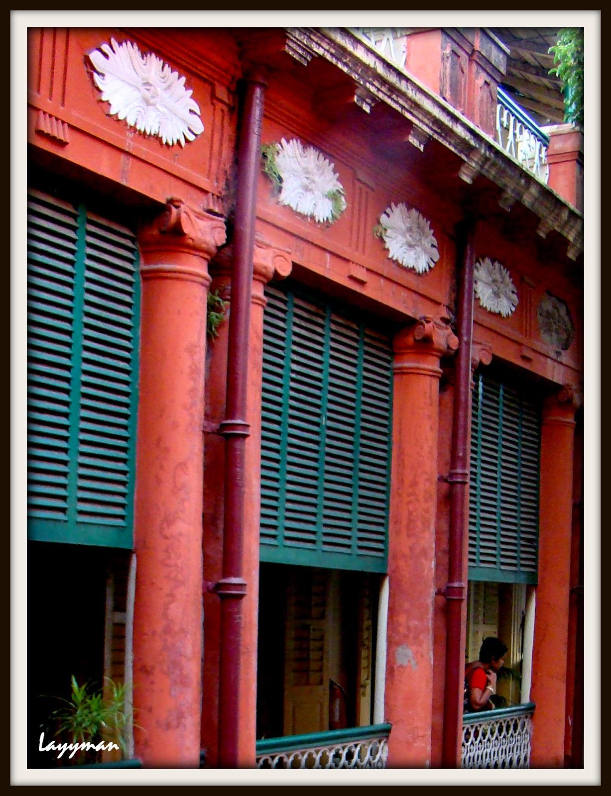 Outer Verandah on 1st floor. Jorasanko Thakur Bari
