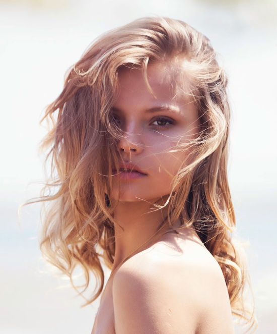 Magdalena Frackowiak in the Magdalena story | Vogue Turkey June 2014 (photography: David Bellemere, styling: Konca Aykan)