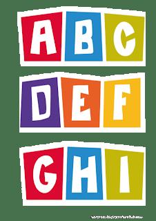 Big letters Pocoyo