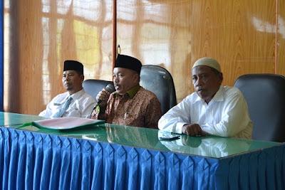 Dekan Fakultas Tarbiyah UIN Sumut Sosialisasikan Program S1 bagi Guru RA di Kemenag Kota Tanjungbalai
