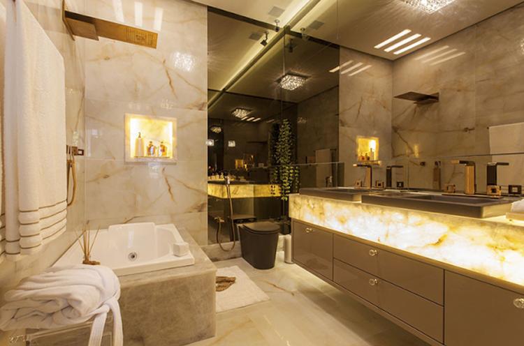10 Tendências de acabamentos para 2016 – saiba o que está em alta para sua ca -> Banheiro Mais Modernos Do Mundo