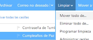 mover todo de... en outlook mail