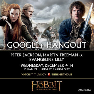 google-hangout-the-hobbit-desolation-of-smaug