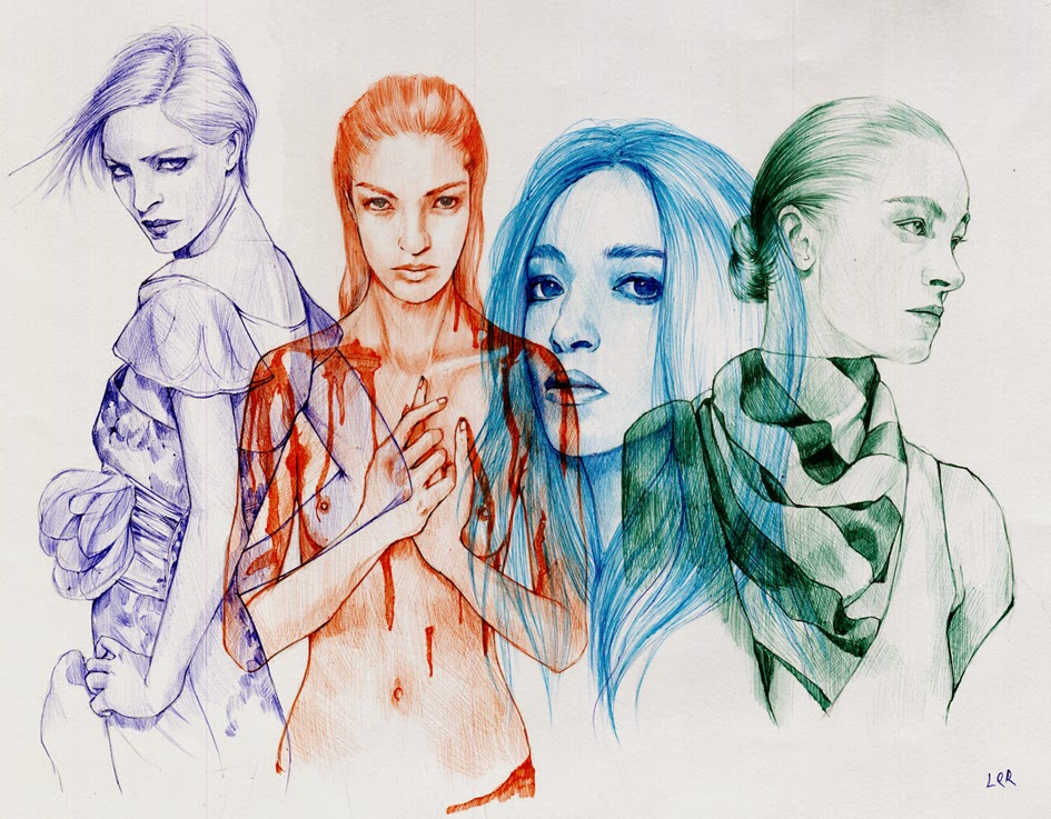 07-Ler-Huang-Ballpoint-Pen-Sketches-&-Drawings-www-designstack-co