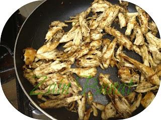 فتة الدجاج بالزبادى 3