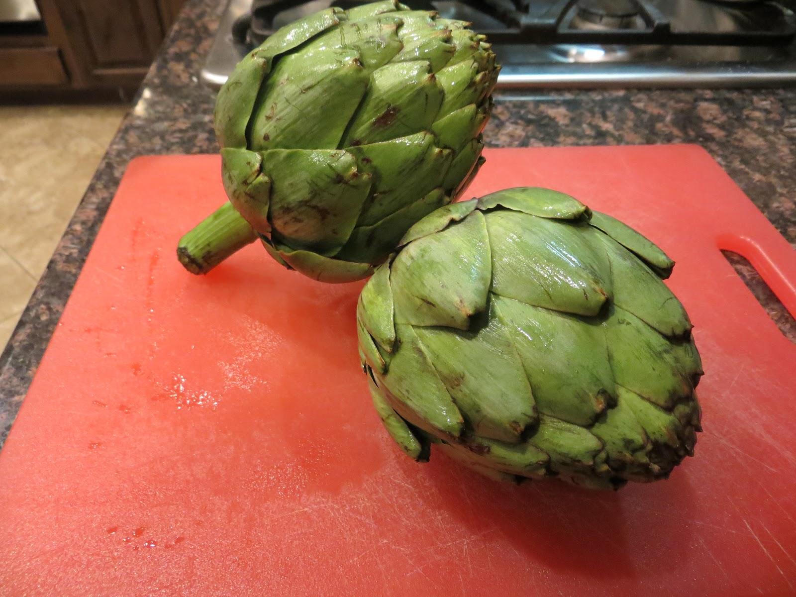 how to prepare fresh artichokes