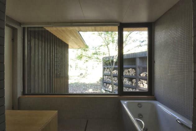 desain rumah kayu di lingkungan alam desain rumah modern