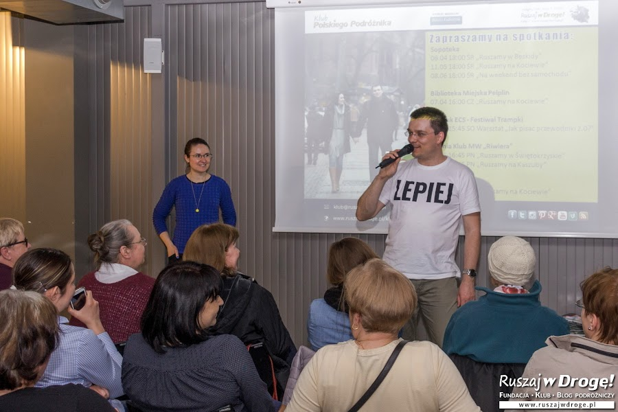 Jedno ze spotkań Klubu w Gdynia InfoBox