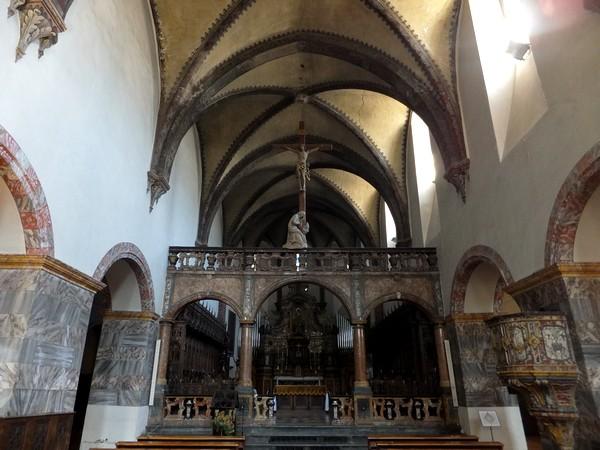 Aoste Aosta Italie sant'orso église
