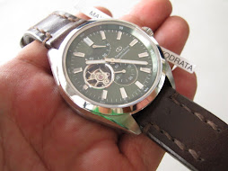 ORIENT STAR SUB SECOND - SUNBURST GREEN DIAL - OPEN HEART - POWER RESERVE - AUTOMATIC