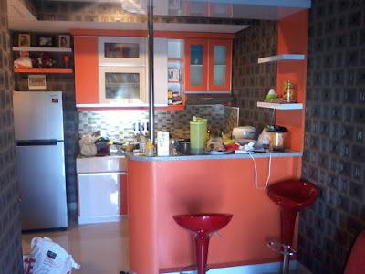 Desain Kitchen Set Apartemen