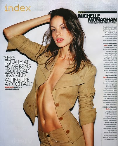 michelle monaghan stomach pumped