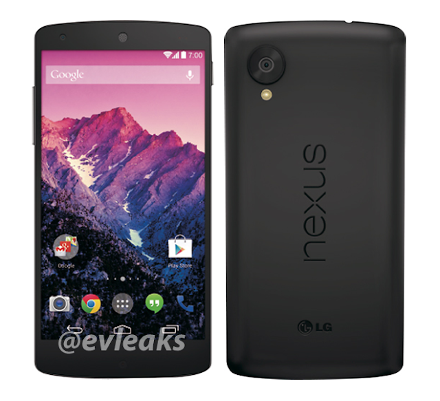 Black Google Nexus 5
