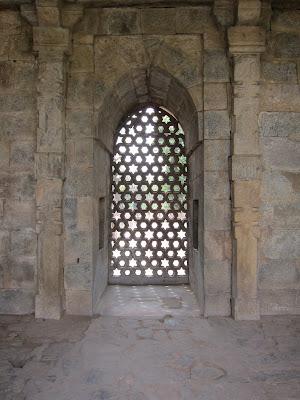 Delhi Qutub Minar window