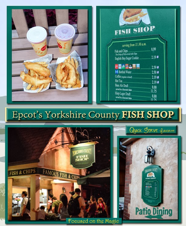 Epcot's Yorkshire County Fish Shop Review