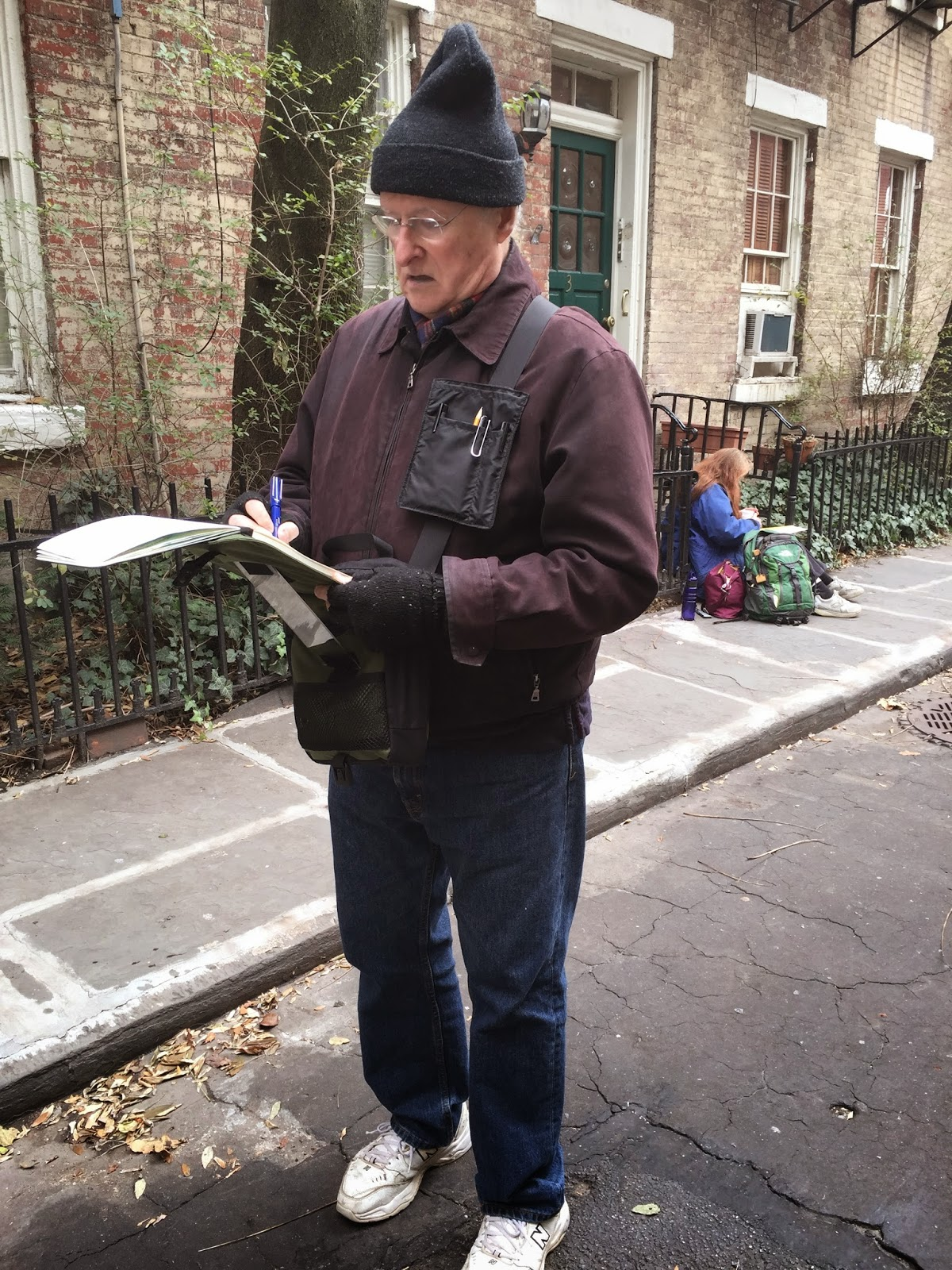 new york city urban sketchers review of darsie beck field easel art bag