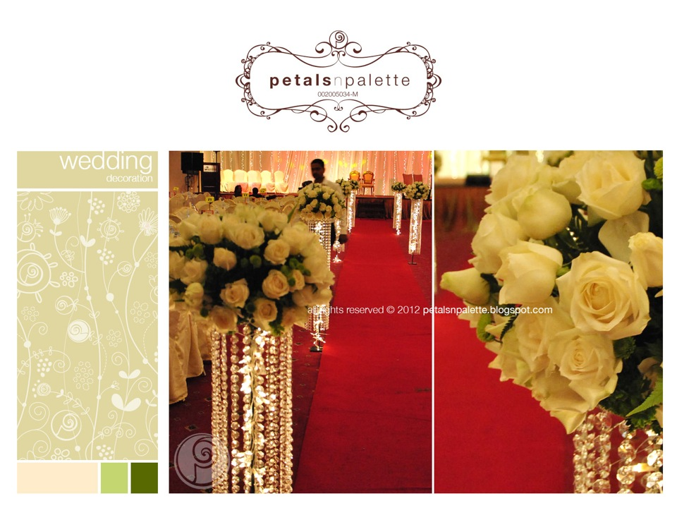 Wedding event decoration wedding decoration malaysia floral wedding decor fresh flower stand junglespirit Gallery