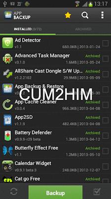 Cara Backup Data Game Serta aplikasi Android Tanpa Root