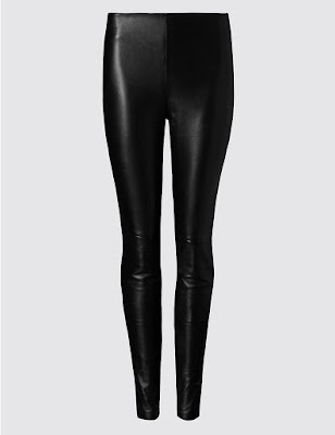 Marks and Spencer Leather Leggings
