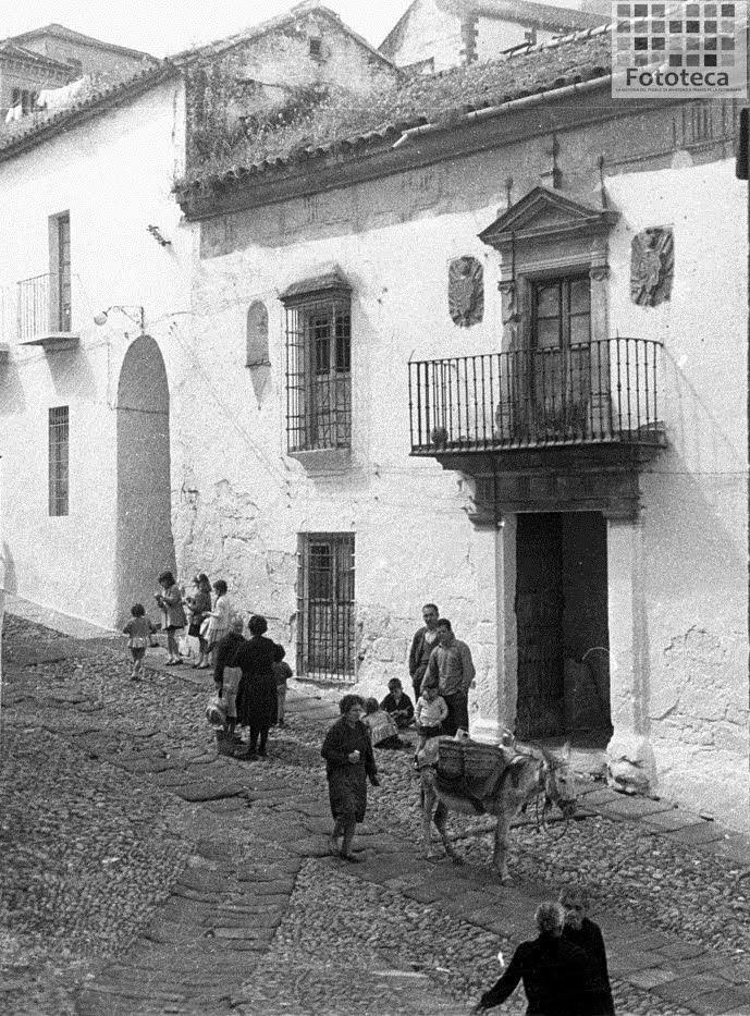 Calle Marín. Años 60
