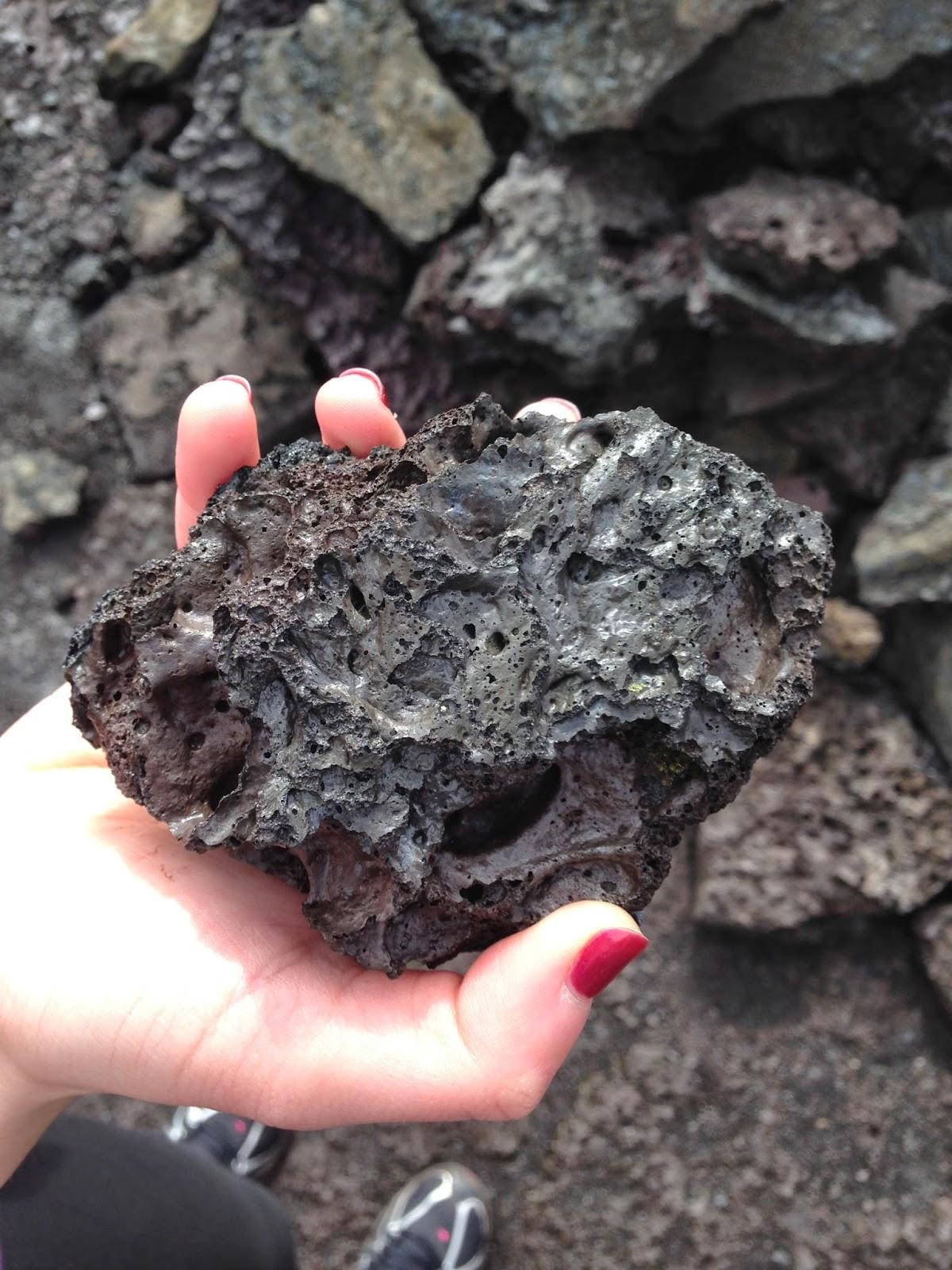 Kilauea lava rock