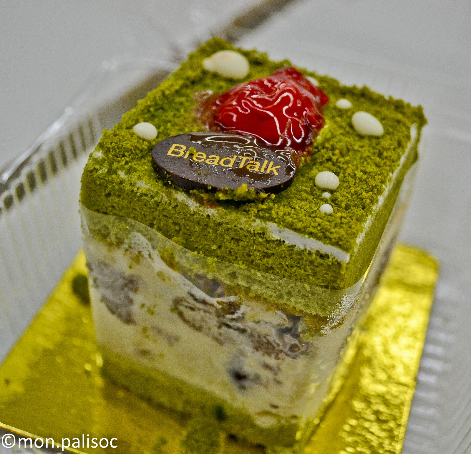 Green Tea Cake Breadtalk