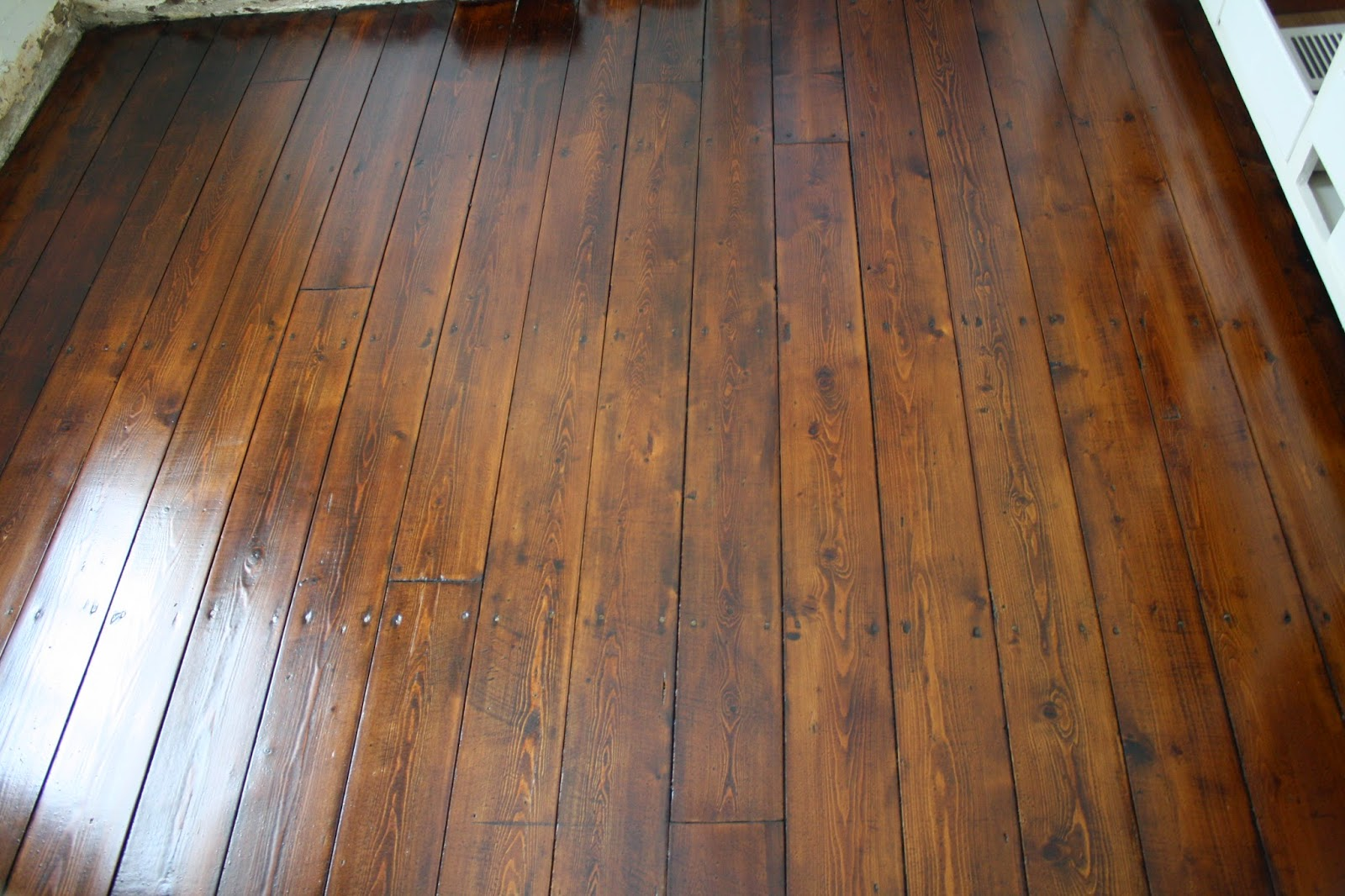 Restoring wood floors