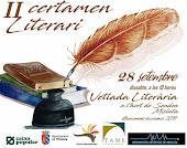 II CERTAMEN LITERARIO - MOVIMIENTO ARTÍSTICO MISLATA (MAM) 2º PREMIO POESÍA CASTELLANO