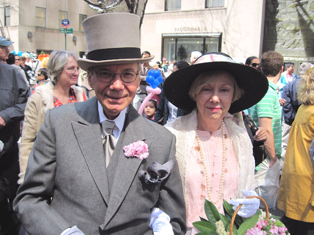 Never underestimate the power of tradition at the Old New York tradition of the Easter Parade