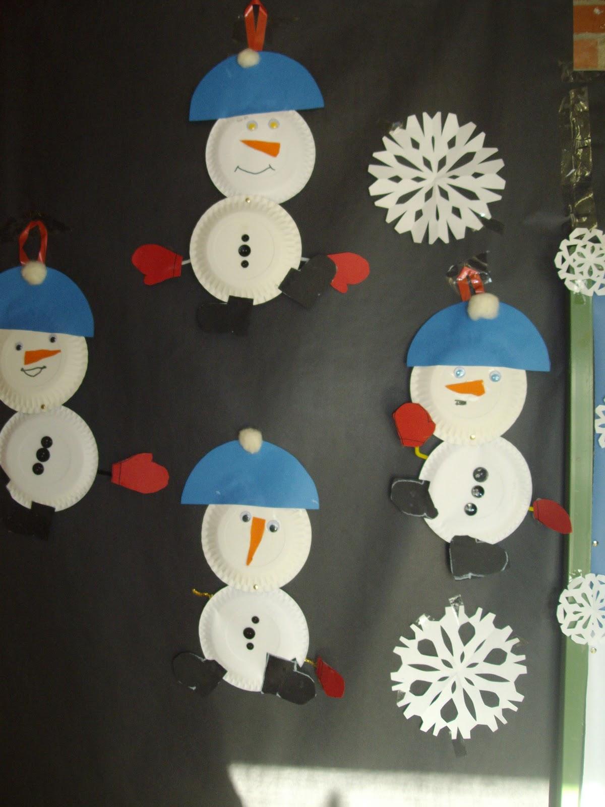 Decoracion invierno manualidades for Manualidades decoracion infantil