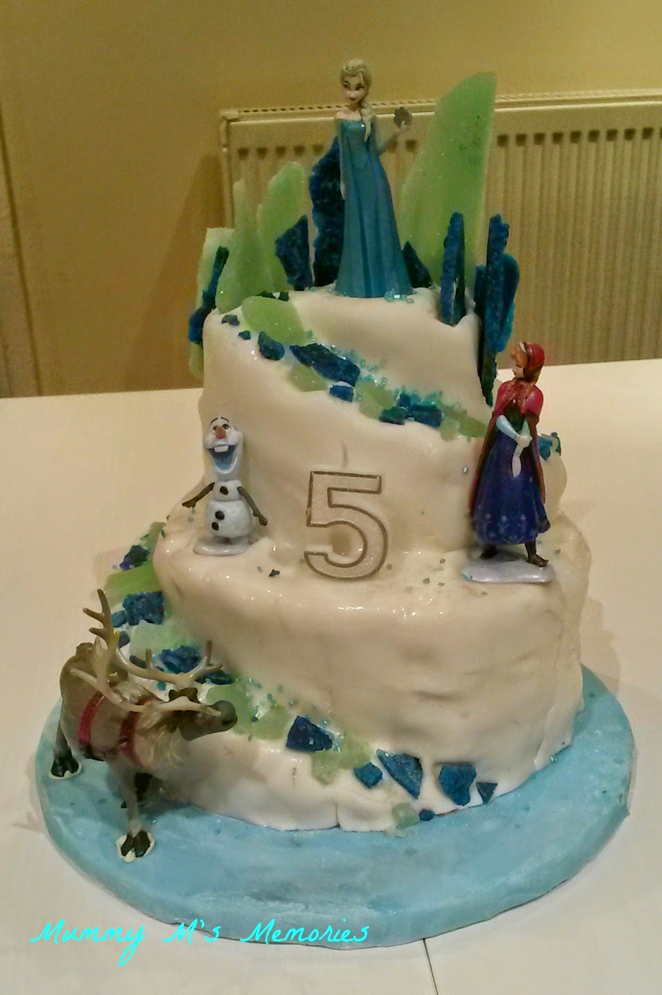 Frozen Cake Decorations Asda : HowToCookThat : Cakes, Dessert & Chocolate Frozen Elsa ...