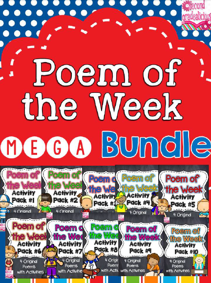 http://www.teacherspayteachers.com/Product/Poetry-Poem-of-the-Week-MEGA-Bundle-Activity-Packs-1-10-Shared-Reading-1322282