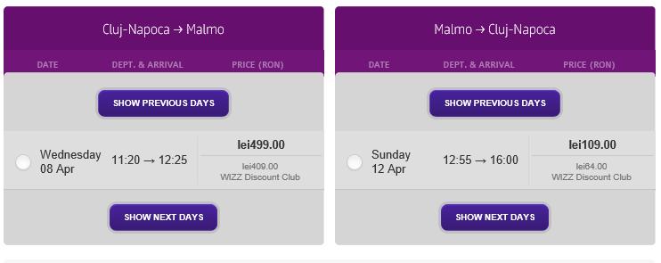 bilet-avion-ieftin-cluj-malmo-wizz-discount