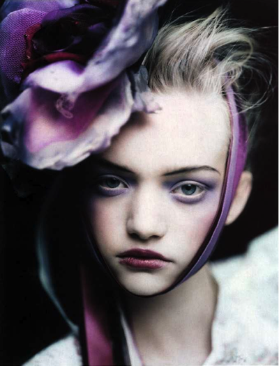 gemma ward photography. portrait of Gemma Ward.