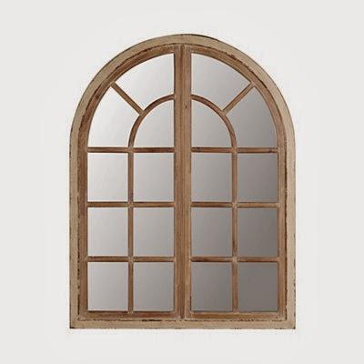 cheapskate arch window frame mirror - Mirror Window Frame