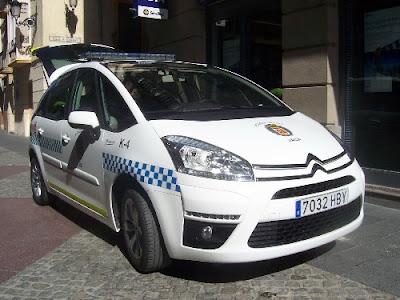 citroen c4 picasso policia