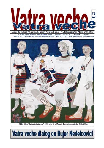 VATRA VECHE, revista rumana, miembro de la Unión de Escritores de Rumanía.