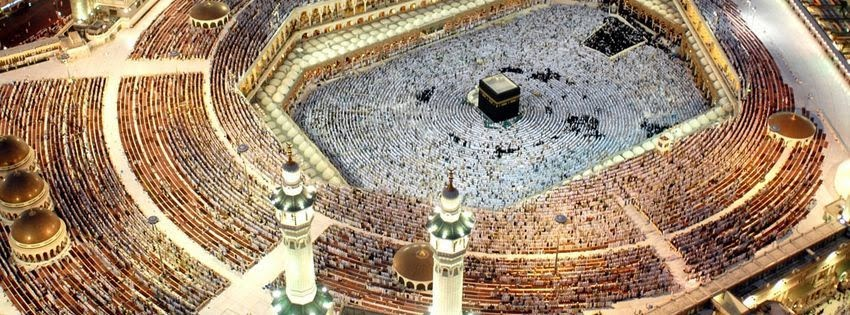 Belle photo de couverture facebook Kaaba