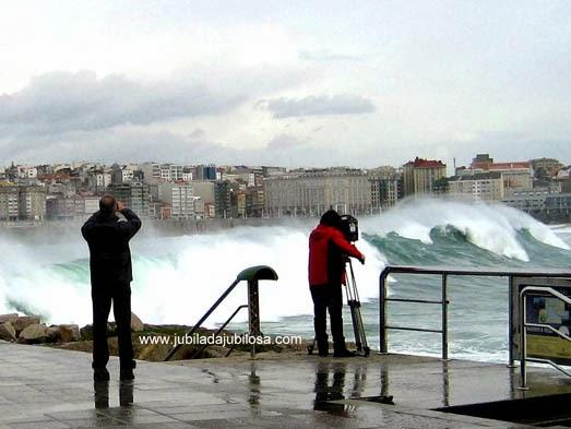 Alerta Roja en A Coruña.