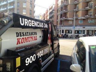 Desatascos urgentes 24 horas en Barcelona