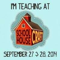 I'm teaching at School House Craft!