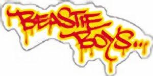 Beastie Boys Graffiti Logo Sticker