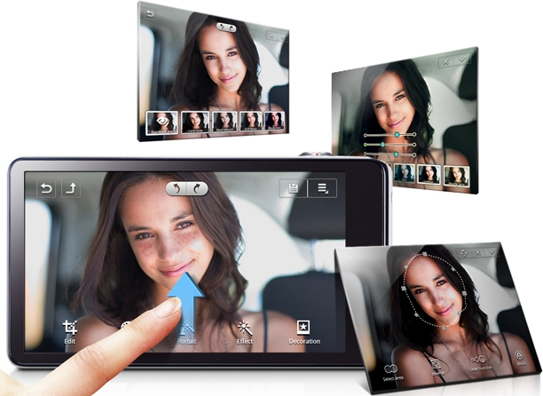 Samsung Galaxy Camera photo editing features