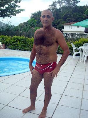 mature men - hairy daddy