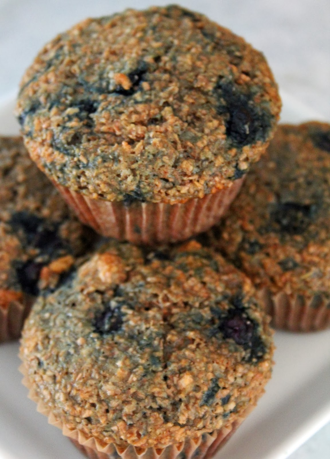 Jo and Sue: Blueberry Banana Bran Muffins