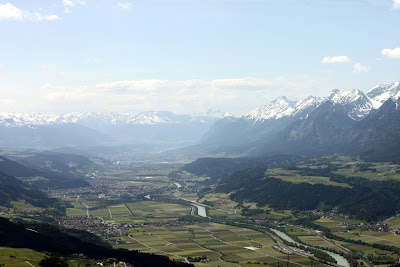 The Austrian alps and the A12/E45