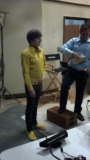 El escaner 3d EVA escanea a Howards de Big Bang Theory