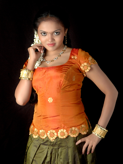 Actress Nikisha Desi Traditional Styles Spicy Stills Photo Shoots sexy stills